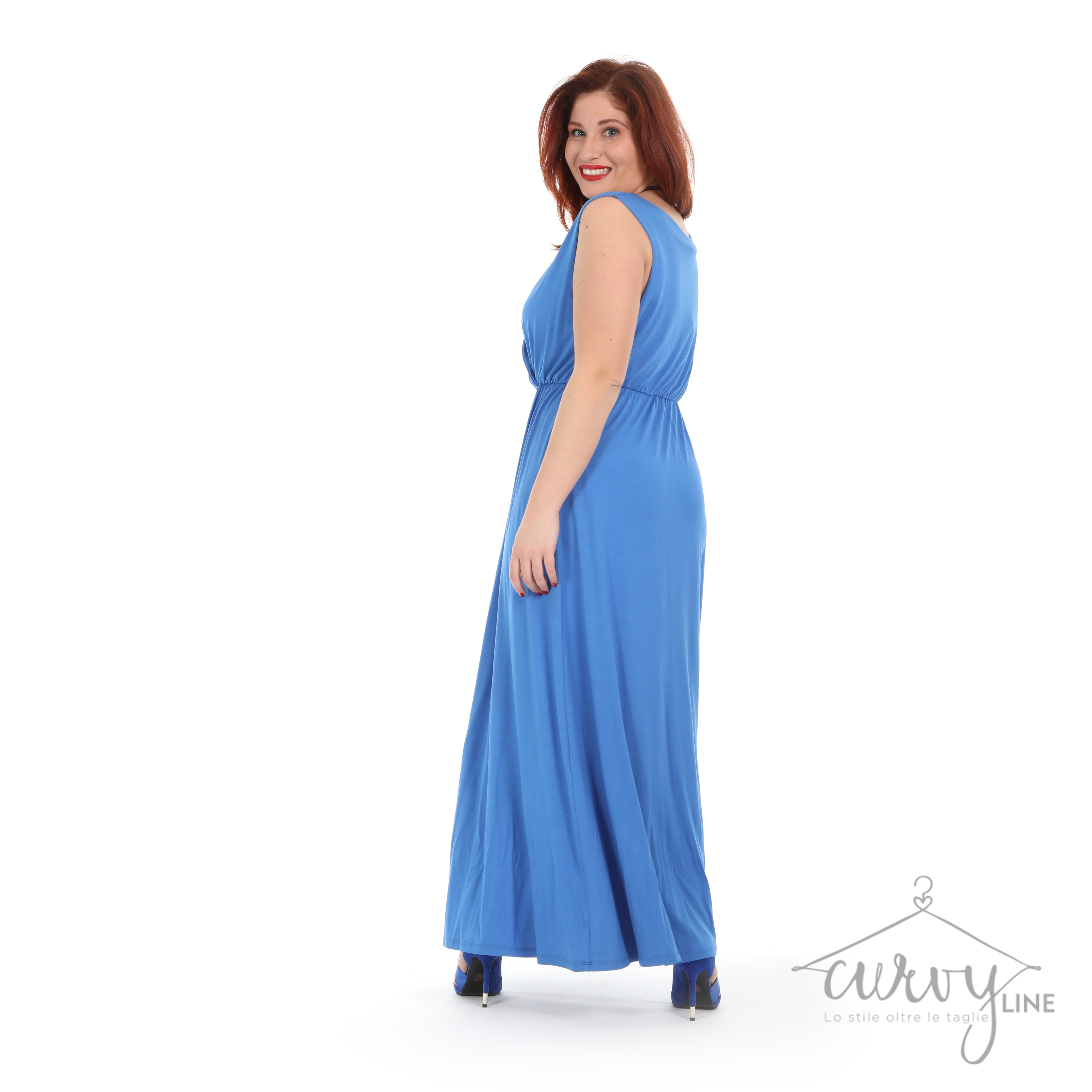innovative design 0a274 43ad2 ABITO LUNGO BLUETTE - CurvyLine